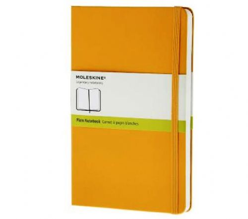 Yellow Large Plain Notebook